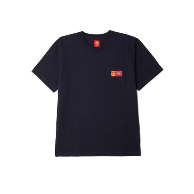 Dickies x Obey - Heavyweight Pocket Tee Dark Navy