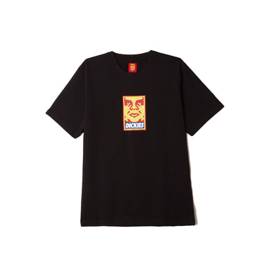 Dickies x Obey - Heavyweight Tee Black