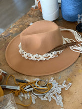 Load image into Gallery viewer, Hat Styling with Macrame Bands