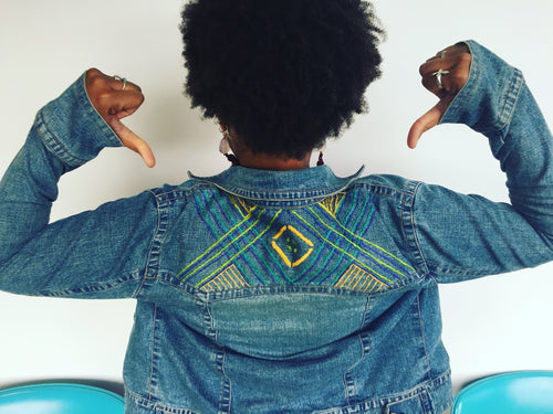Upcycled Denim Embroidery Workshop