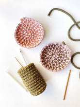 Load image into Gallery viewer, MAR 27th ONLINE - Crocheted Bowl Workshop with Anne Cops