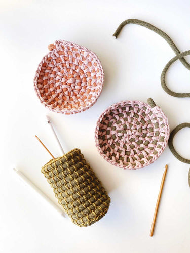 ONLINE - Crocheted Bowl Workshop with Anne Cops