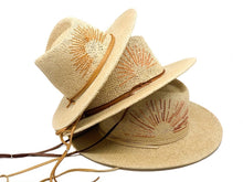 Load image into Gallery viewer, Straw Hat Embroidery