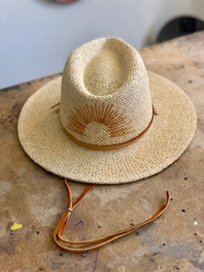 Straw Hat Embroidery