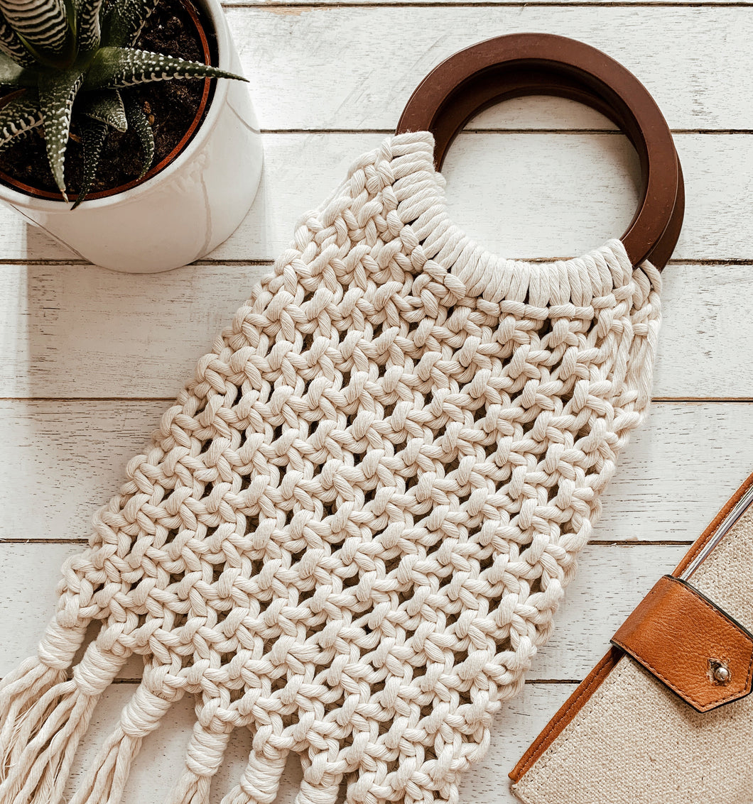 Macrame Bag Workshop - 2:00-5:00
