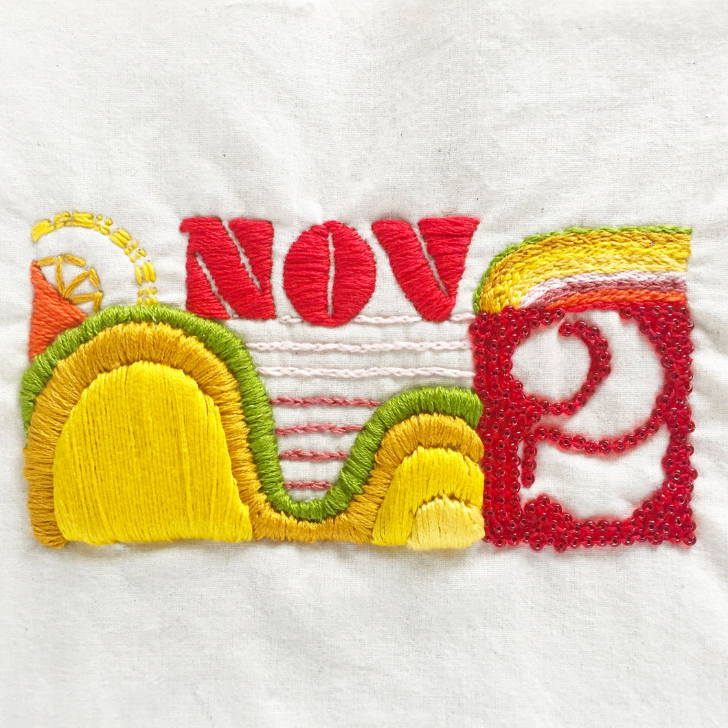 Memorial Embroidery Workshop