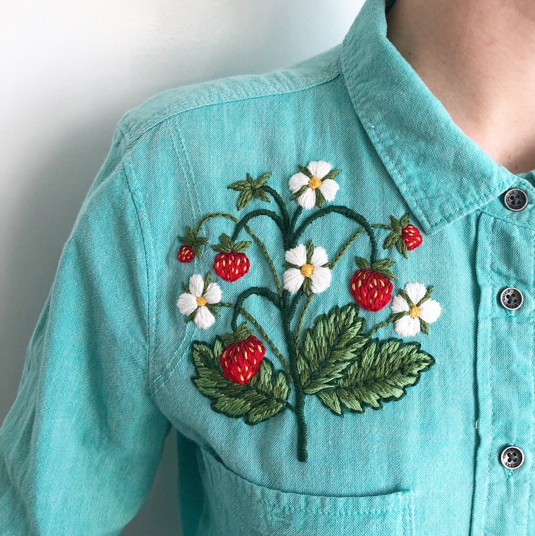 ONLINE - Upcycle Embroidery