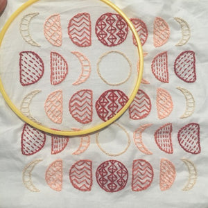 VIRTUAL WORKSHOP - 05/09/20 Meditative Embroidery