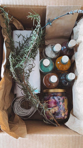 Bundle Dyeing and Eco-Printing Kit Plus Class Recording