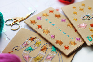 ONLINE WORKSHOP - Notebook Cover Embroidery