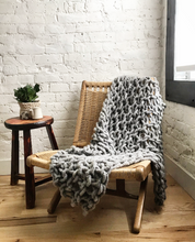 Load image into Gallery viewer, Arm Knit Throw Blanket with Anne Weil
