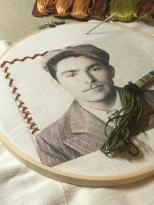 Photo Embroidery Workshop