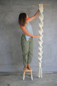 IN-PERSON GIANT-Macrame Workshop with Denise Ambrosi