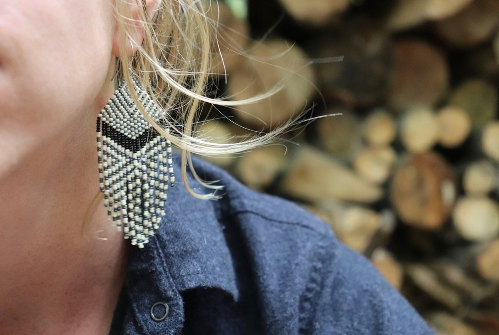 Introduction to Beadwork Earrings - by Em Wylder (AM)