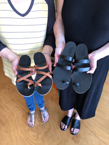 IN-PERSON - Leather Sandal Making Workshop