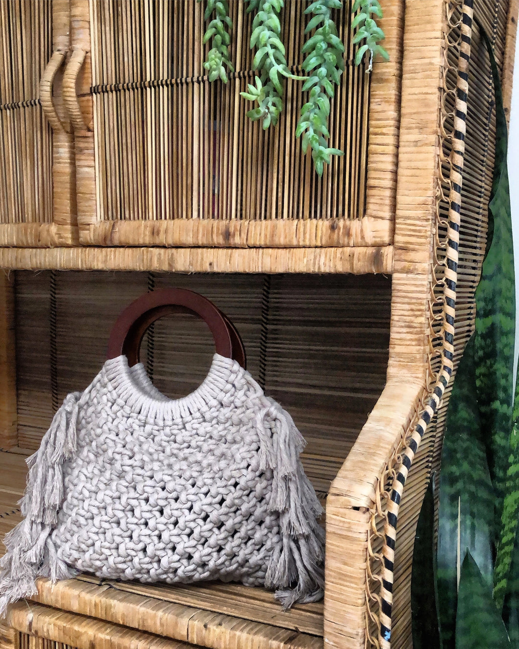Macrame Handbag with Brittany Raimo