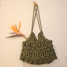 Load image into Gallery viewer, ONLINE - Macrame Handbag/ Tote (MAKER CLASS)