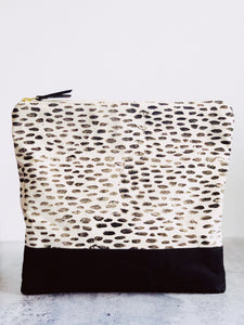 Block Printing AND Sewing - Fold Over Clutch