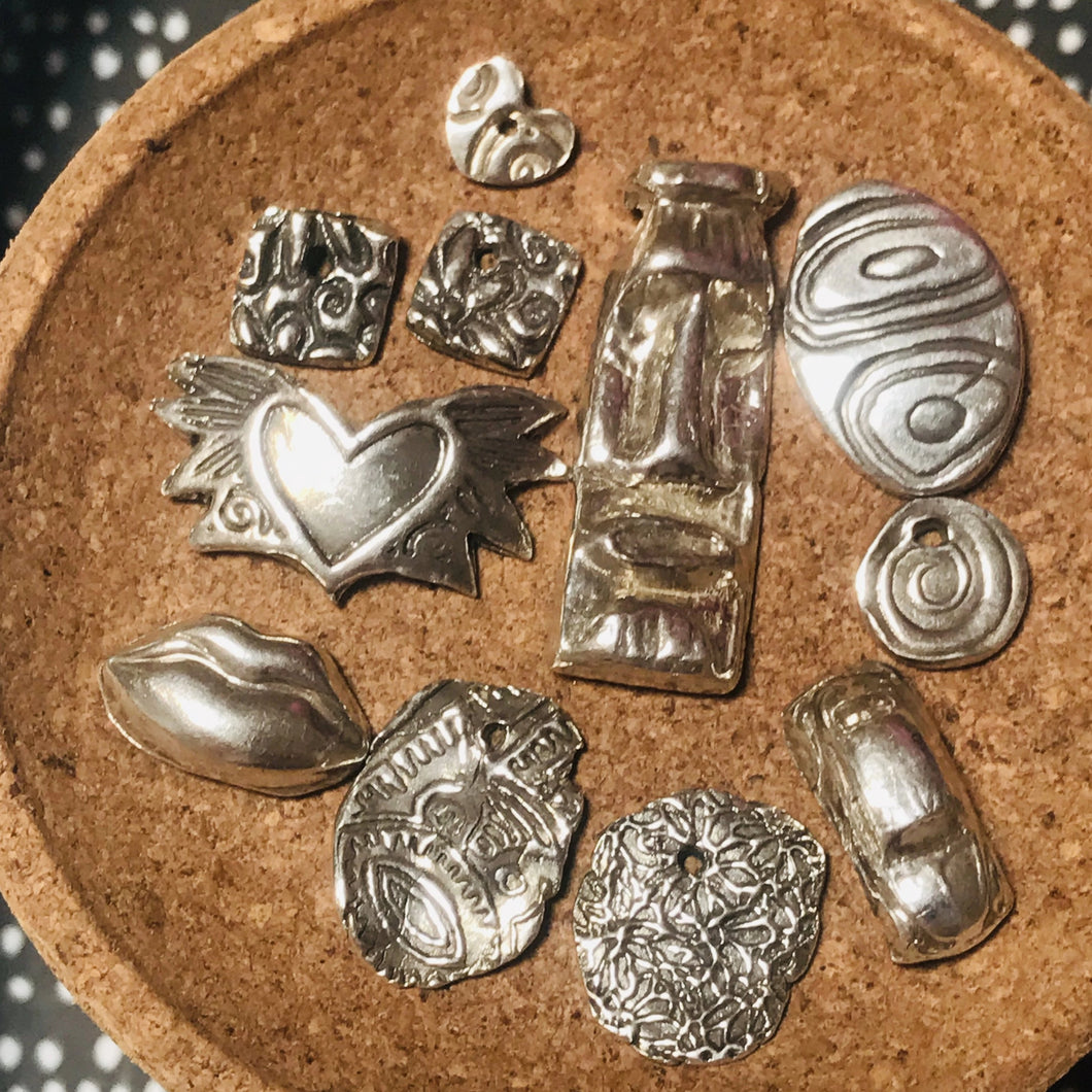 Introduction to Metal Clay with Cathi Milligan