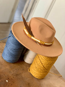Hat Styling with Macrame Bands