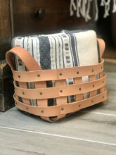 Load image into Gallery viewer, Modern Leather Basket Workshop