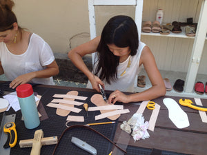 Leather Sandal Making Workshop