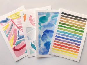 VIRTUAL WORKSHOP - 05/02/20 Abstract Watercolor (NO KIT)