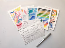 Load image into Gallery viewer, VIRTUAL WORKSHOP - 04/18/20 Abstract Watercolor