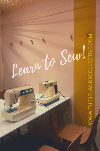 Intro to Sewing (3 Hour Private Lesson)
