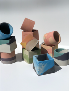 May 8th IN-PERSON - Concrete Vessels with Concrete Geometric