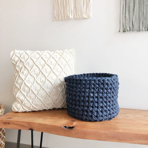 Crochet Basket Online Workshop
