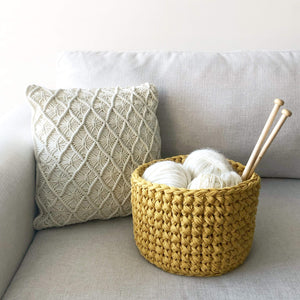 ONLINE Crochet Basket Workshop