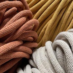Bobbiny Jumbo 9mm Cotton Braided Macrame Cord