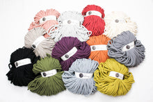 Load image into Gallery viewer, Bobbiny Jumbo 9mm Cotton Braided Macrame Cord