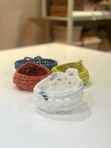 Crocheted Bowls