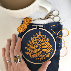 ONLINE - Intro to Embroidery... Essential Stitches & Techniques