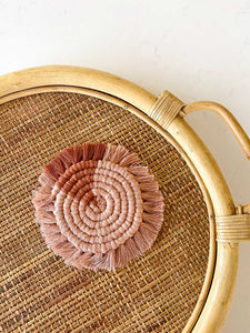 May 16 ONLINE Macrame Coasters Workshop with Anne Cops