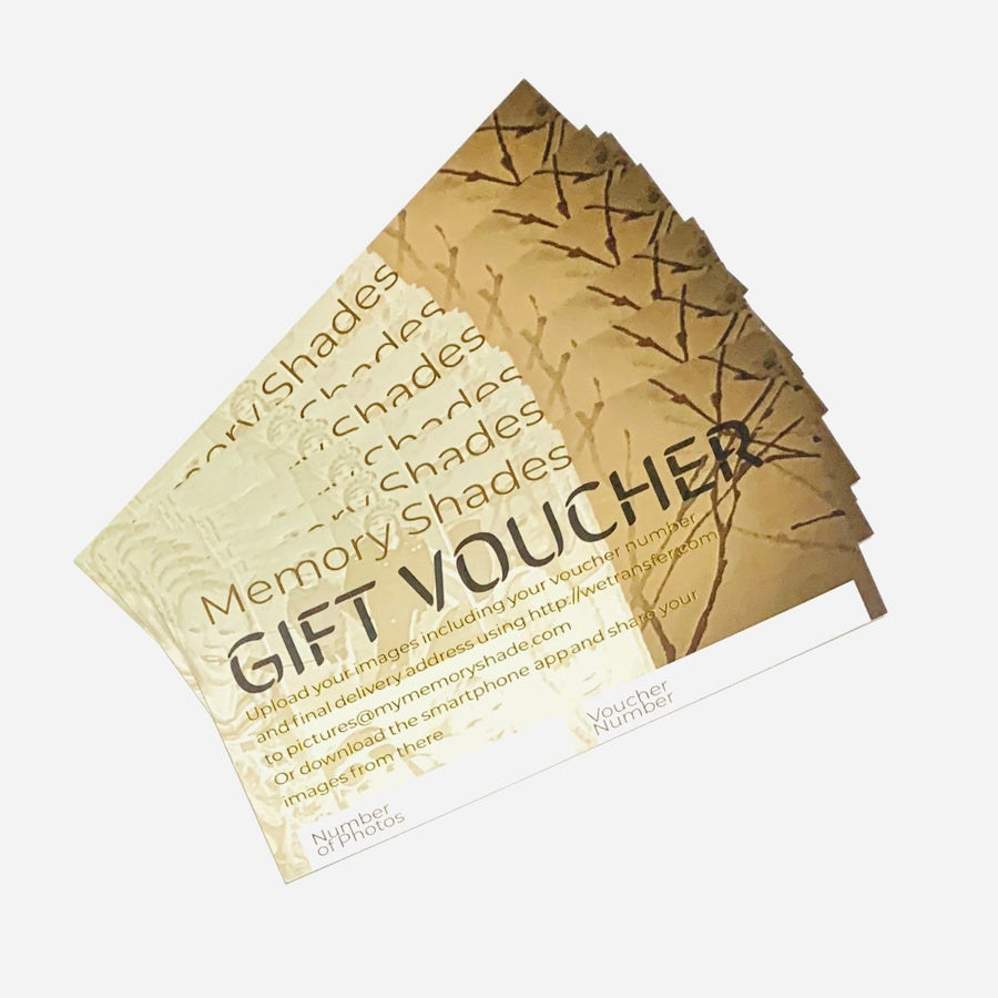 Gift Voucher - 52 Photo Sculpted Ceiling Light or Rotatable Lamp Shade