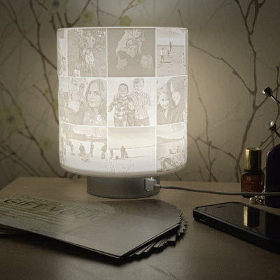 Gift Voucher Sculpted 27 Photo LED Lamp Phone Charger