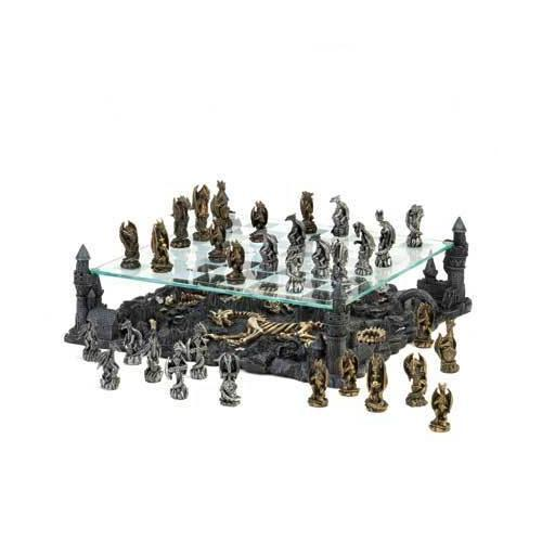 Two Tier Dragon Chess Set (pack of 1 SET)