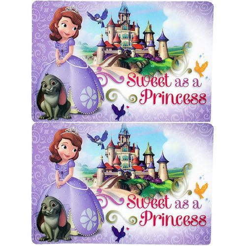 Sofia the First Plastic Placemats [2-Pack]