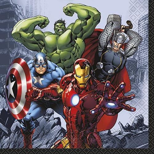 Marvel's Avengers Luncheon Napkins [16 Per Pack]
