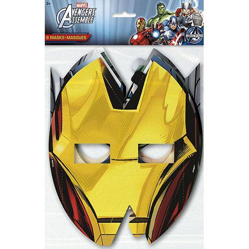 Marvel's Avengers Party Masks [8 Per Package]