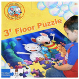 Toopy and Binoo Three Foot Puzzle [46 Pieces]