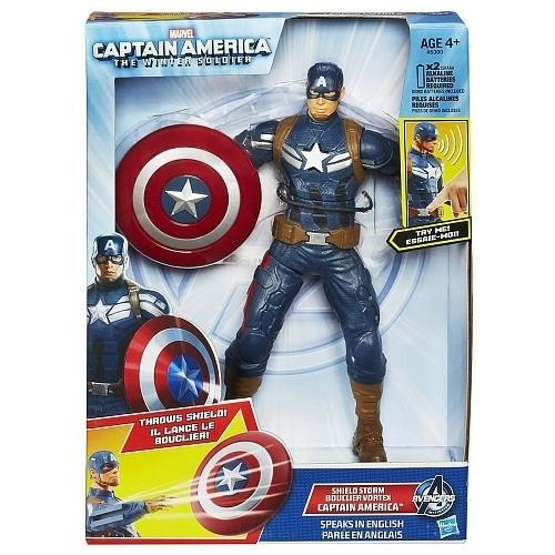 Marvel Captain America Shield Storm [Speaks English]
