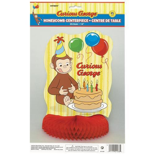 Curious George Honeycomb Centerpiece