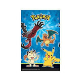 Pokemon Pikachu and Friends Plastic Table Cover