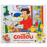 Caillou Floor Puzzle [48 Pieces - Cooking Fun]