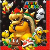 Super Mario Bros. Luncheon Napkins [16 per Package]