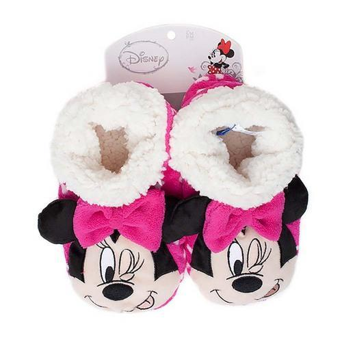 Minnie Mouse Kids Slippers - Pink [Medium/Large]